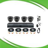 4-канальный комплект камеры CCTV с цифровым видеорегистратором и камеры. 2,0 МП 1080P