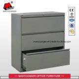 Fach-Metallc$voll-aufhebung des Büro-Möbel-Lieferanten-3 seitlicher zugelassener oder letzter Datei-Schrank