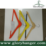 DIP Paint Rubber Percha de madera, Anti Skid Percha