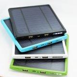 2 порта USB большой емкости солнечная энергия банк 12000mAh на заводе