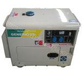 3kVA~6.5kVA de stille Diesel Draagbare Generator van de Macht met de Certificatie van Ce