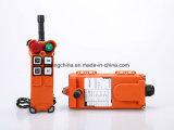 Control remoto de la grúa Telecrane F21-4S, 4 Botón de velocidad única función de control de la radio inalámbrica