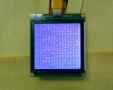 Módulo gráfico 128*128 do LCD, azul de Stn, luminoso branco do diodo emissor de luz
