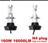 Farol do veículo 16000LM, lâmpadas de LED, as lâmpadas LED Automática