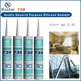 Curado acético del sellante del silicón de la buena calidad (Kastar730)