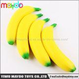 Giocattoli aumentanti lenti del regalo della decorazione dei capretti di vendita di compressione della banana Squishy calda della frutta