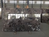 새로운 디자인 회색 대리석 석판, PVC 벽면, 경작된 대리석 석판