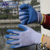 Nmsafety 10g Polyester Palm Coated Latex Working Glove