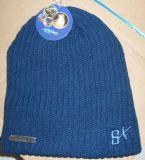 昇進のカスタマイズされた刺繍のロゴの暖かいニットの帽子