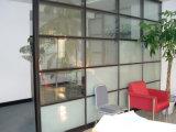 Templado esmerilado partición decorativos de vidrio flotado (JINBO Sala).