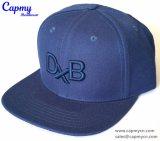 Design personalizado Hat com logotipo Bordado 3D TV plano rasante Hat Fornecedor
