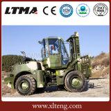 Ltma 디젤 엔진 포크리프트 판매를 위한 5 톤 거친 지형 포크리프트