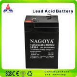 Venta caliente batería de almacenamiento de ciclo profundo con la certificación SGS (6V4AH)