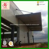 Atelier à plusiers étages d'immeuble de bureau d'acier de construction