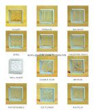 Het Duidelijke Glas/glas- Blok van het rooster (Baksteen)