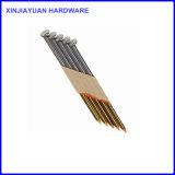 熱いすくいの電流を通された鉄のワイヤーによって照合されるペーパーストリップの釘