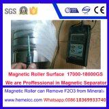 Separador magnético de intensidad alta seco del rodillo para el mineral no-metálico Products380n