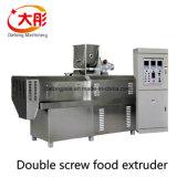 A linha de produção de alimentos para animais de estimação automática