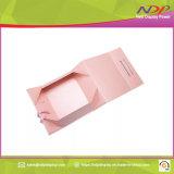 Caja de embalaje plegable portátil personalizado paquete de regalo de papel