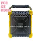 別の絵の具箱が付いている新しい到着の充電電池DJのスピーカーボックス