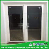 Perfil de PVC UPVC plástico janelas de guilhotina globo escurecido