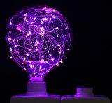 Iluminación estrellada del bulbo de diez colores LED para la decoración