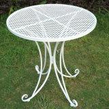 옥외 가구를 위한 접히는 금속 테이블 그리고 의자