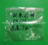 Kundenspezifische Plastikreißverschluss-Beutel mit Schweber für Unterwäsche-Verpackung