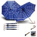 風の抵抗190tポリエステル自動車の開いた標準的でまっすぐな傘