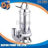 Submersíveis Cortador de esgoto da bomba de água em aço inoxidável