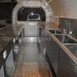이동할 수 있는 음식 트럭 또는 아이스크림 손수레 또는 핫도그 이동할 수 있는 음식 손수레