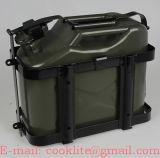 10 litre Jerry peut Diesel Essence Huile d'eau de style militaire de stockage peut