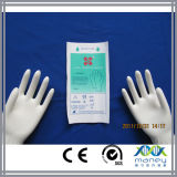I guanti chirurgici a gettare medici del lattice hanno approvato con Ce (MN-LG0002)