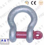 Feux de l'acier galvanisé à chaud haute résistance de l'anse de la chaîne de la broche verte