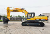 중국 최고 Sinomach 건축기계 기술설계 장비 34 톤 1.5 M3 크롤러 굴착기 유압 굴착기
