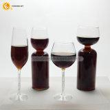 Vaso di vetro della cristalleria del vino rosso della tazza bevente di Stemm