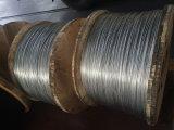 Filo galvanizzato ricoperto zinco del filo di acciaio per il conduttore di ACSR