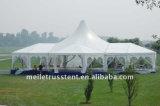 При отклонении от нормы из ПВХ на открытом воздухе производителей алюминия Gglass на крыше свадебной палатка