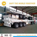 40FT Behälter-Sattelschlepper/flaches Bett-Schlussteil mit Blockwagen-Aufhebung