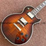 Custom Lp электрическая гитара в коричневый Burst хромированные детали (НЛП-72)