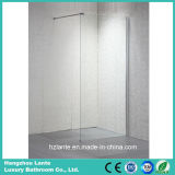 Cabina de ducha de la puerta de cristal de pantalla para el cuarto de baño (LT-9-3490-C).