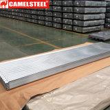 Bobina d'acciaio ondulata d'acciaio del galvalume per lo strato del tetto della costruzione