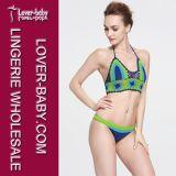 여자 섹시한 수영복 크로셰 뜨개질 수영 착용 (L32570)