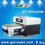 Impresora de la impresora del algodón del trazador de gráficos plano de la caja A3 del teléfono de Garros Digital 3D