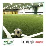 Mini-campo de futebol artificial de tapetes de fios de relva sintética para campos de futebol