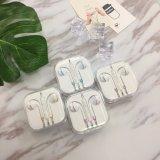 Volumen Popular portátil clásico en la oreja los auriculares con micrófono para iPhone