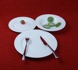 jeu de dîner blanc en céramique de porcelaine de jeu de dîner 16PCS