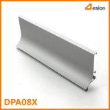 Profil d'extrusion de la poignée en aluminium de DPA08X