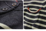 봄 가을을%s 줄무늬 스웨터가 Phoebee 아이들 의복 소년에 의하여 뜨개질을 했다