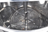 Réservoir de mélange de liquide de lavage d'acier inoxydable